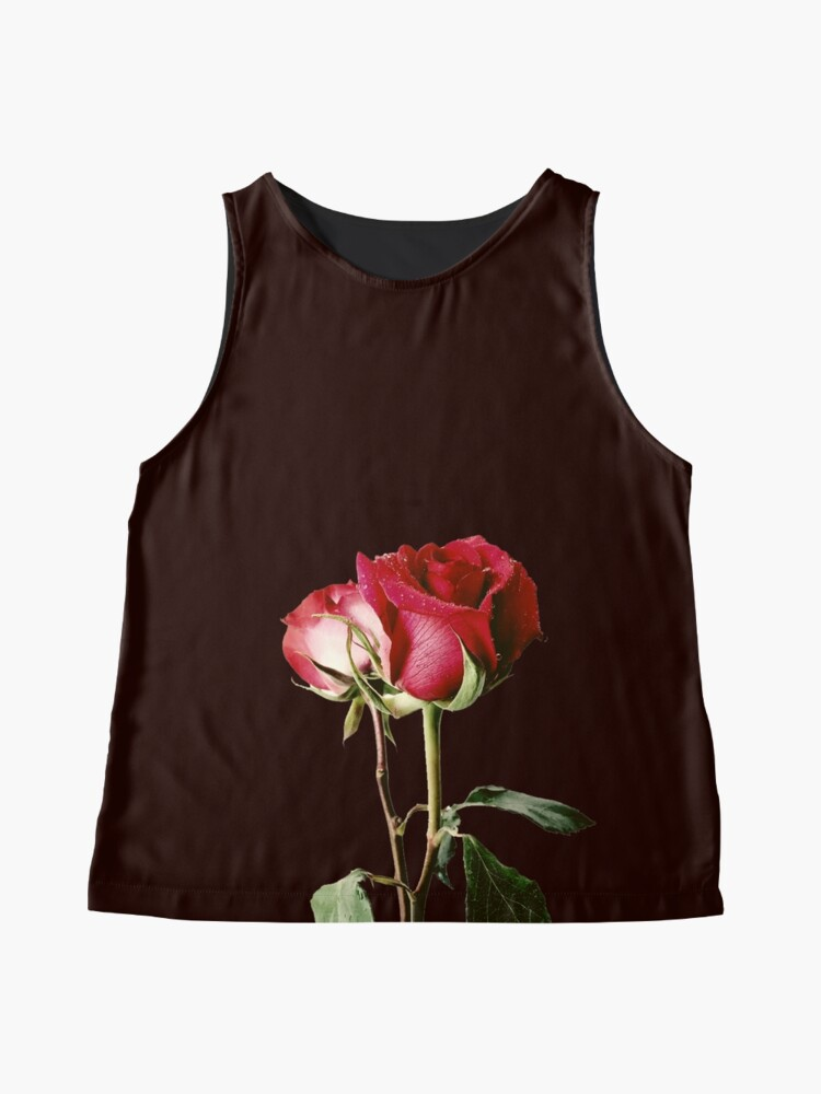 Alternate view of Wrongdoing Magazine Real Rose Collection Sleeveless Top