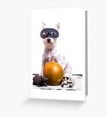 Happy Halloween Dog Greeting Card