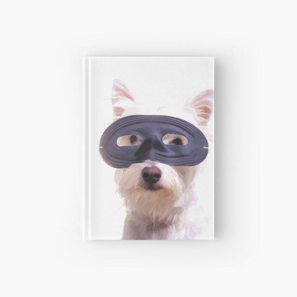 Happy Halloween Dog Hardcover Journal