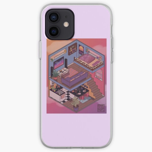 Small Apartment with Cute Kitchen Corner iPhone Soft Case