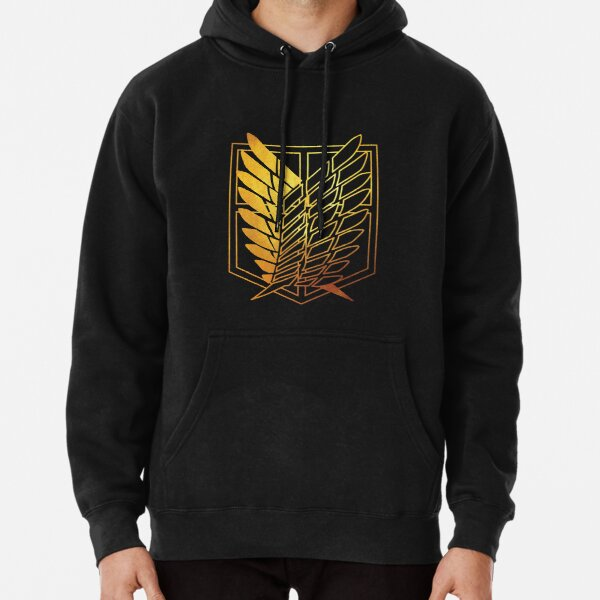 Attack on Titan Golden Pullover Hoodie