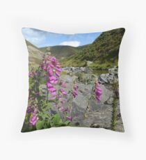 Scottish scenery Throw Pillow
