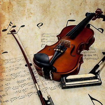 violin and harmonica - music by p-insolito
