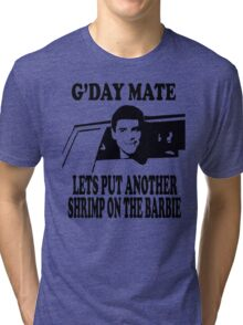 Dumb And Dumber - G'day Mate Tri-blend T-Shirt