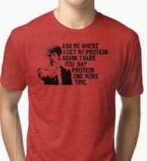 Vegan Protein Tri-blend T-Shirt