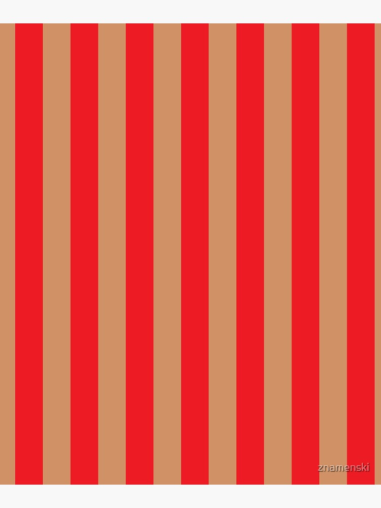 Large red vertical stripes on a flesh-colored background by znamenski