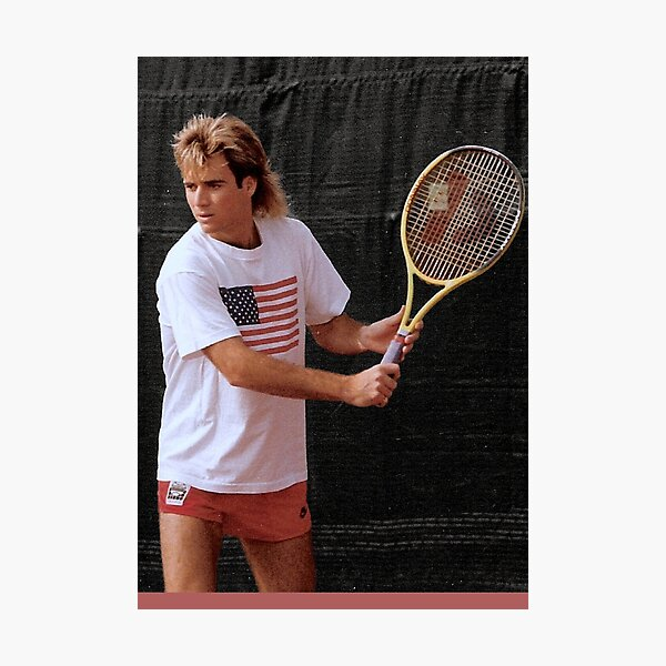 Andre Agassi Photographic Print