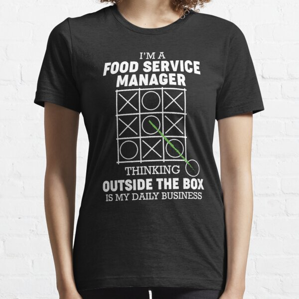 Funny Food Service Manager  Essential T-Shirt