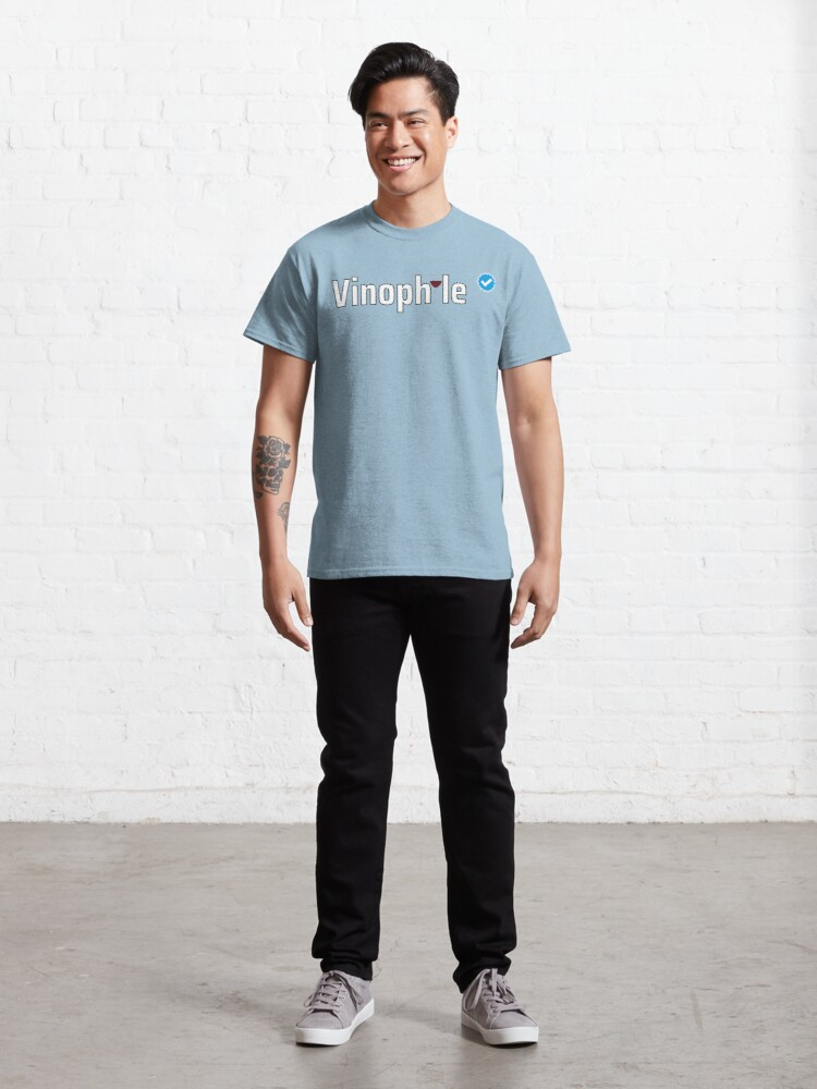 Alternate view of Verified Vinophile Classic T-Shirt