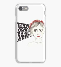 Paramore Tell Me It's Okay iPhone Case/Skin