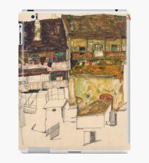Egon Schiele - Old Houses in Krumau, 1914 Landscape iPad Case/Skin