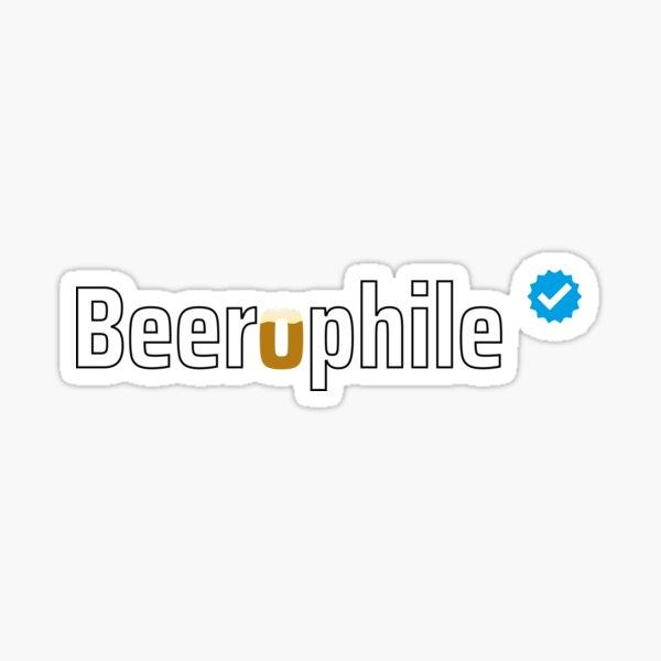 Verified Beerophile Sticker