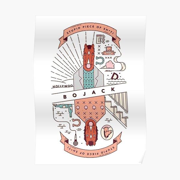 Morceau de sh * t BoJack Horseman Poster