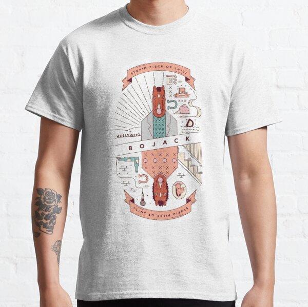 Pedazo de mierda BoJack Horseman Camiseta clásica