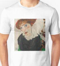 Egon Schiele - Portrait of Wally Neuzil 1912 Woman Portrait T-Shirt