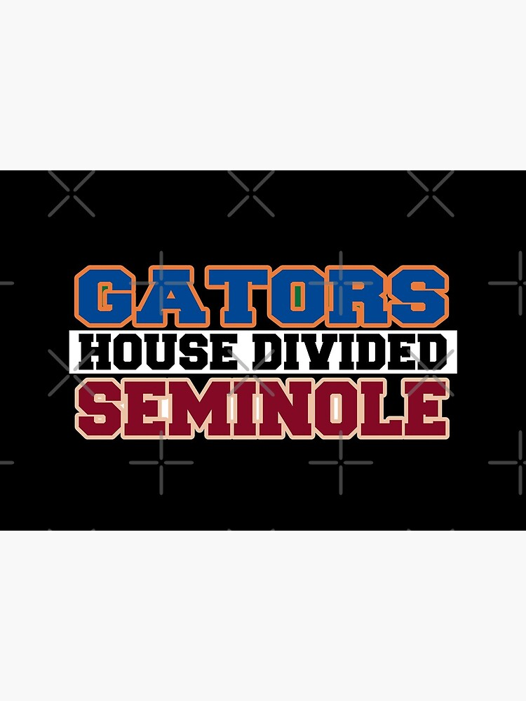 Gators House Divided Seminole by Mbranco