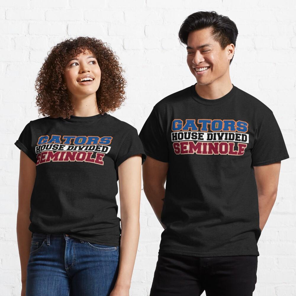 Gators House Divided Seminole Classic T-Shirt