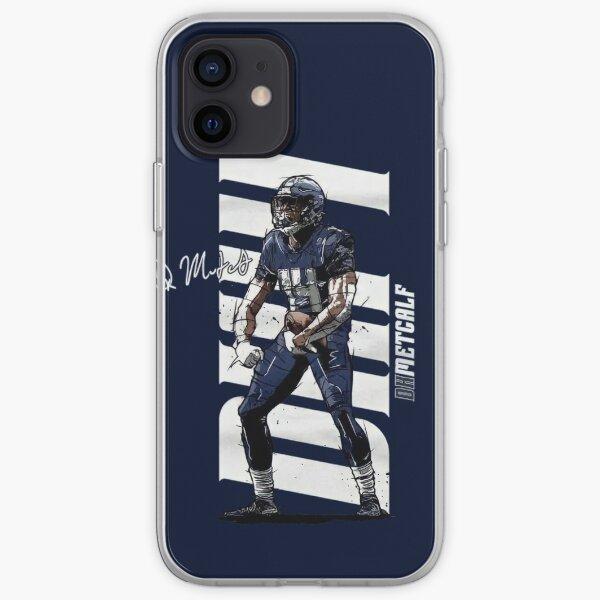 DK Metcalf pour les fans des Seattle Seahawks Coque souple iPhone