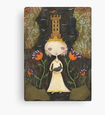 The Tower Keeper's Daughter Canvas Print