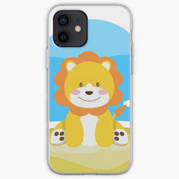 Like a lion in savana Coque souple iPhone