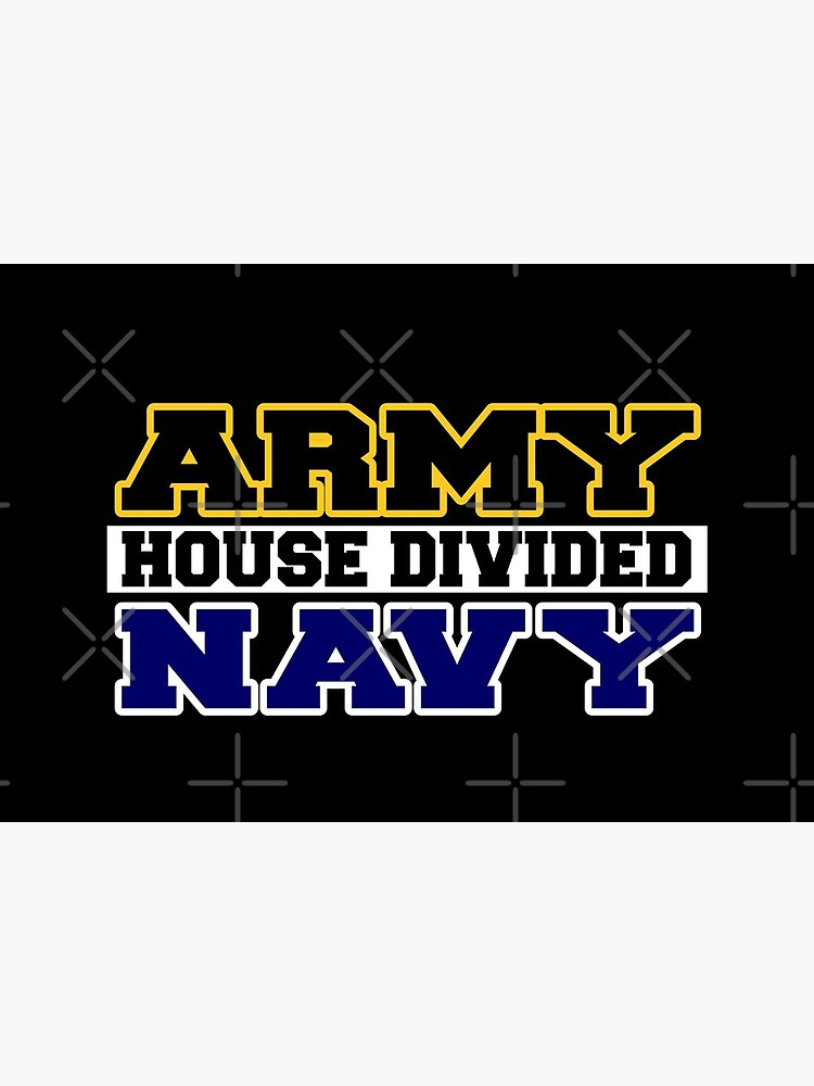 Army House Divided Navy by Mbranco