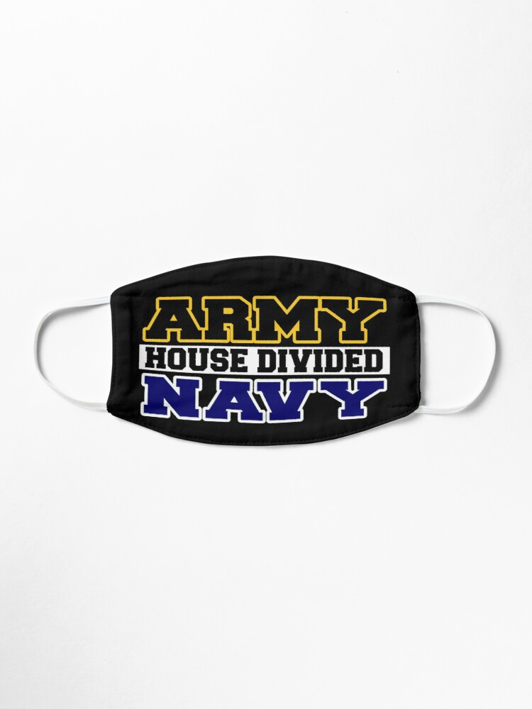 Alternate view of Army House Divided Navy Mask