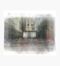 Paley Park NYC Photographic Print