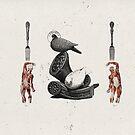 HOMBRES QUE DEVORAN HOMBRES (men devouring men) by Alvaro Sánchez