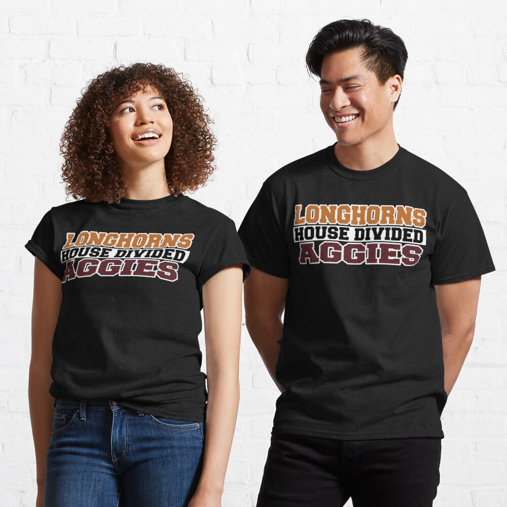 Longhorns House Divided Aggies Classic T-Shirt
