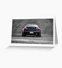Mazda RX7 Greeting Card