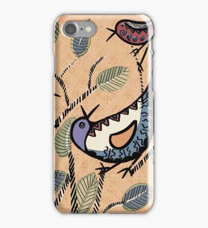 The Other Branch: Birds by Alma Lee iPhone Case/Skin