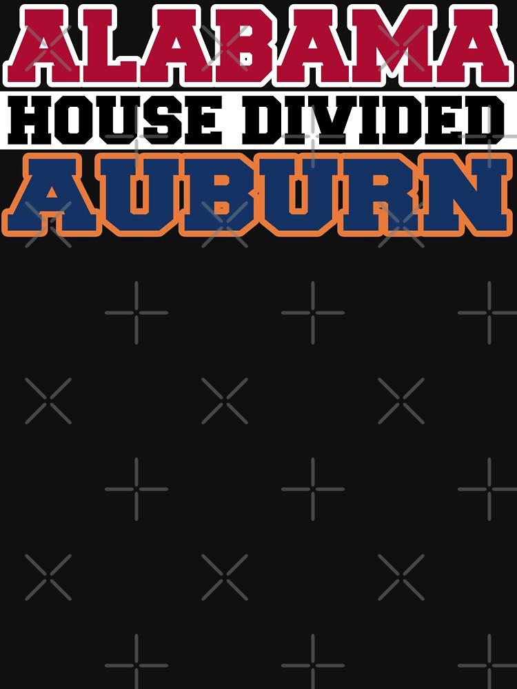 Alabama House Divided Auburn by Mbranco