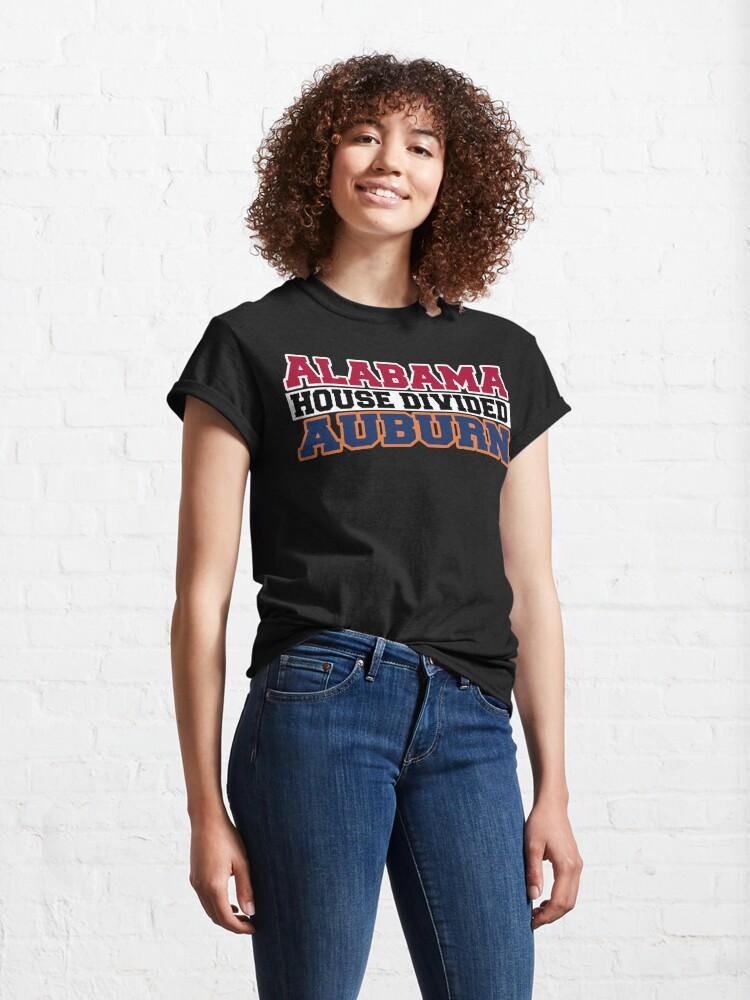 Alternate view of Alabama House Divided Auburn Classic T-Shirt