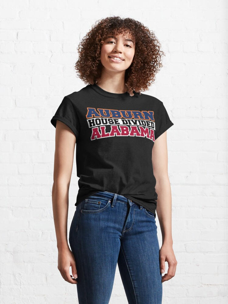 Alternate view of Auburn House Divided Alabama Classic T-Shirt