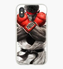Street Fighter V: Ryu Poster iPhone Case