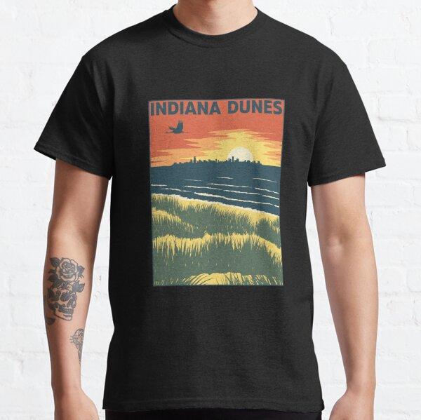 Indiana Dunes Sunset Classic T-Shirt
