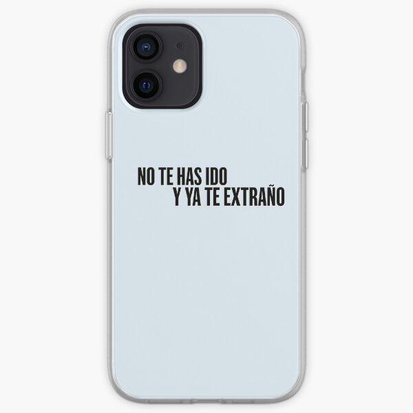 Aitana no te has ido y ya te extraño  Funda blanda para iPhone