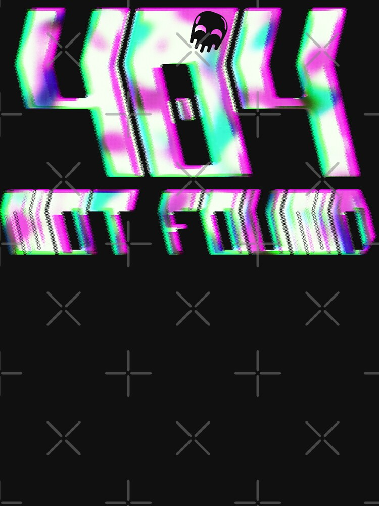 Glitch - 404 Not Found by RabbitLair