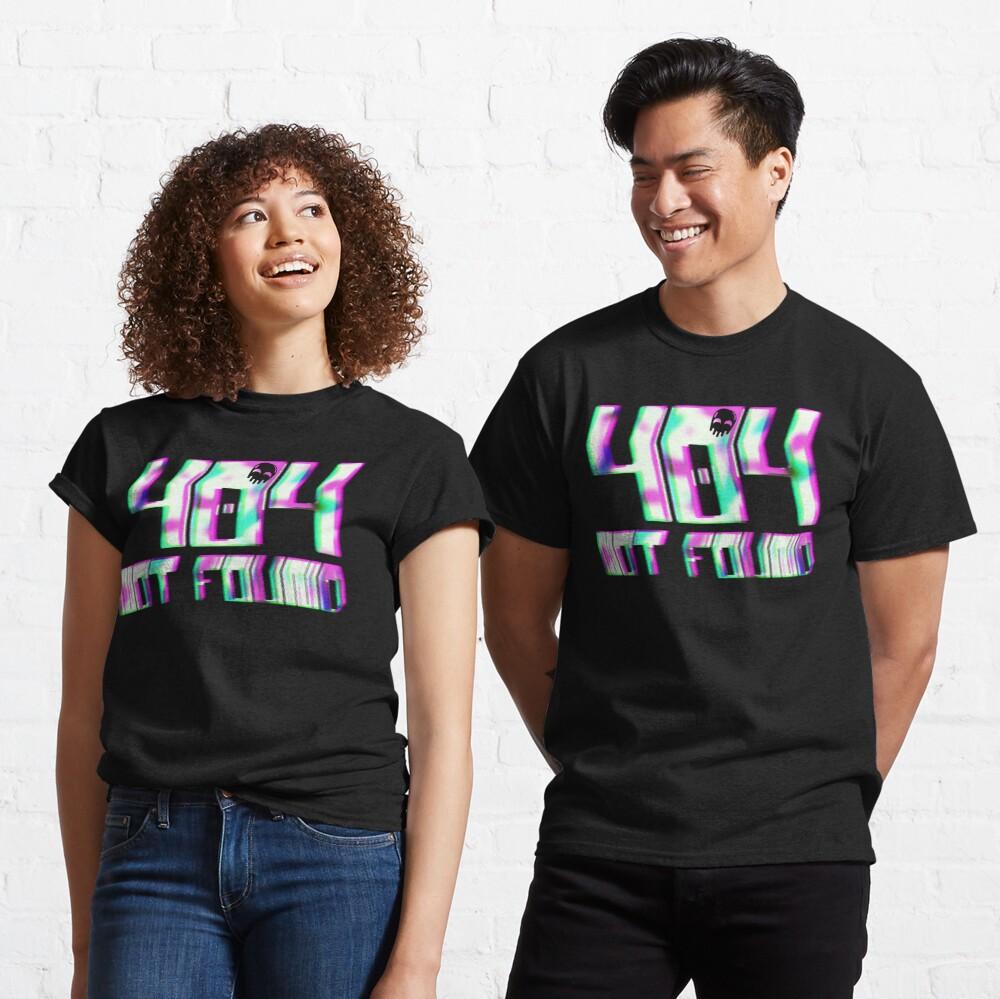 Glitch - 404 Not Found Classic T-Shirt
