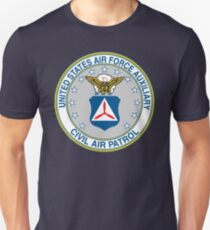 Civil Air Patrol Seal Slim Fit T-Shirt