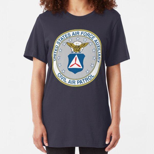 Civil Air Patrol Seal Slim Fit T-Shirt
