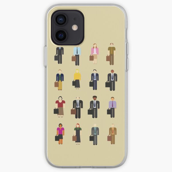 The Office: Characters iPhone Soft Case