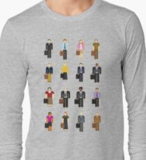 The Office: Characters Long Sleeve T-Shirt