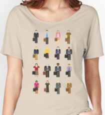 The Office: Characters Women's Relaxed Fit T-Shirt