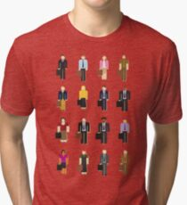 The Office: Characters Tri-blend T-Shirt