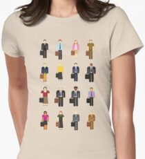 The Office: Characters Women's Fitted T-Shirt