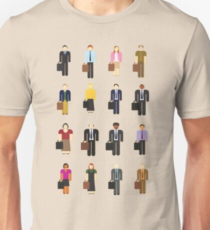 The Office: Characters Unisex T-Shirt