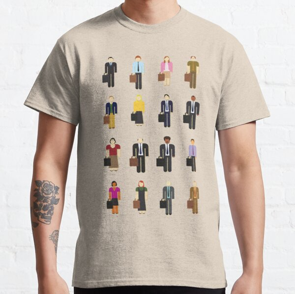 The Office: Characters Classic T-Shirt
