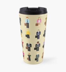 The Office: Characters Travel Mug