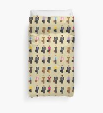 The Office: Characters Duvet Cover